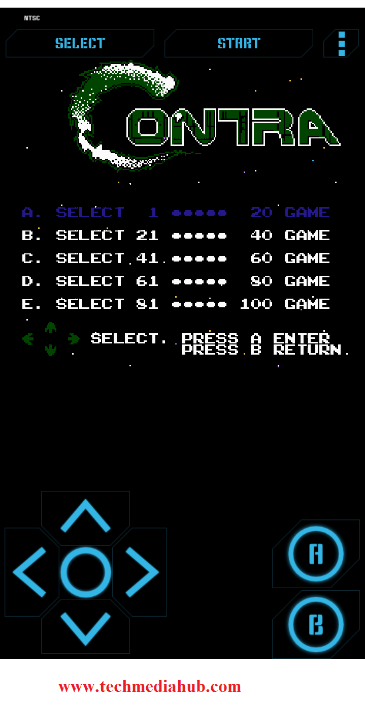 How to play NES games on Android Phones – TechMediaHub com