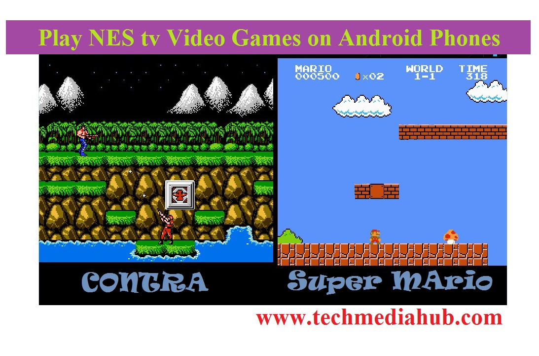 play NES games on Android phones