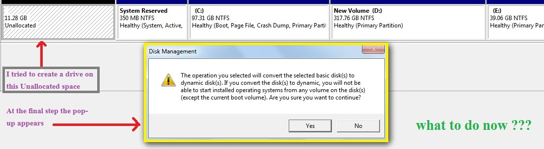 convert dynamic disk to basic disk