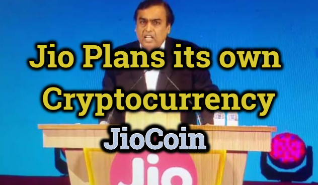 Relaince Jio own Cryptocurrency JioCoin