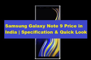 samsung galaxy note 9 price in india , specification & features - TechMediaHub.com